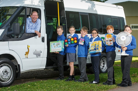 New School Bus for Botswana Primary School Thanks to Cardiff Business