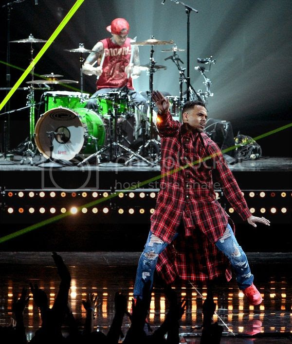 Watch: Chris Brown, Trey Songz & August Alsina perform together & solo at BET Awards