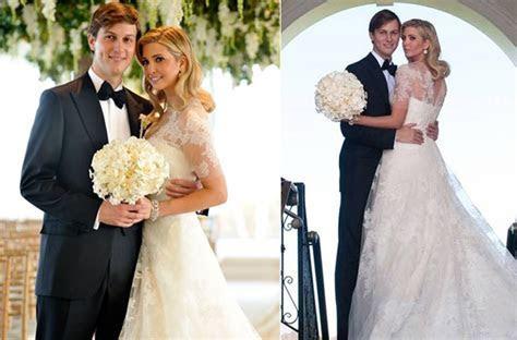 Celebrity brides by style  Ivanka Trump, modest romance