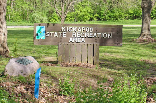 Kickapoo State Park and Campground Review in Illinois