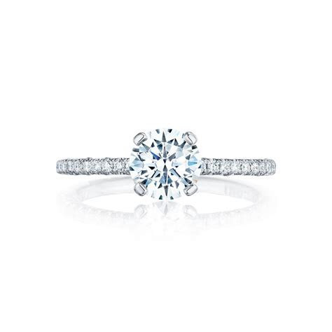 Tacori Engagement Rings Petite Crescent Setting 0.23ctw