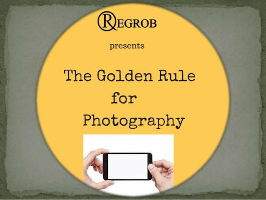 Golden rule for photography