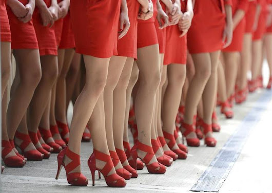 Wear high heels or go home - British report finds sexist dress codes rife