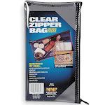 MMF Industries Clear Zippered Cash Bag, Vinyl - 234041720R