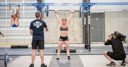 How CrossFit Helped This Former Gymnast Get Over Her Anxiety From Competitions