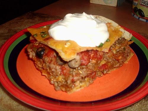 Mexican Lasagna 4