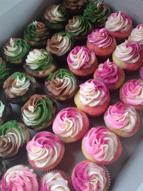 Camouflage cupcakes by StacyCakes.. Www.facebook.com