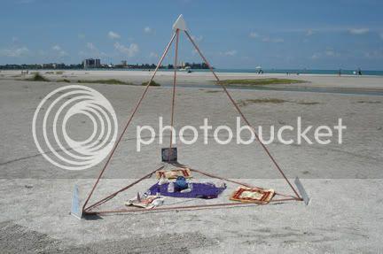 Tetrahedron Pyramid - Lido Beach