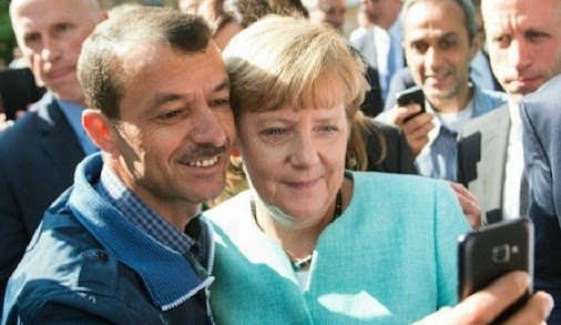 "Germany: Muslim migrant thanks ""Mama Merkel"" for being able to practice polygamy on benefits  FEB 24..."
