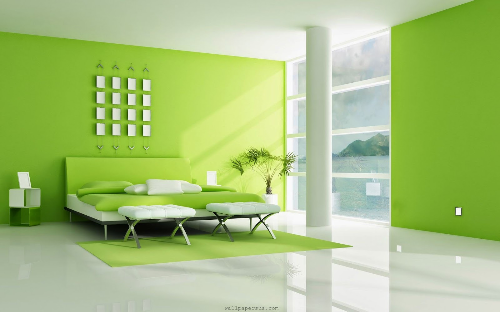 10 Kombinasi Warna Cat Rumah Hijau Untuk Rumah Minimalis Modern Rumah Impian