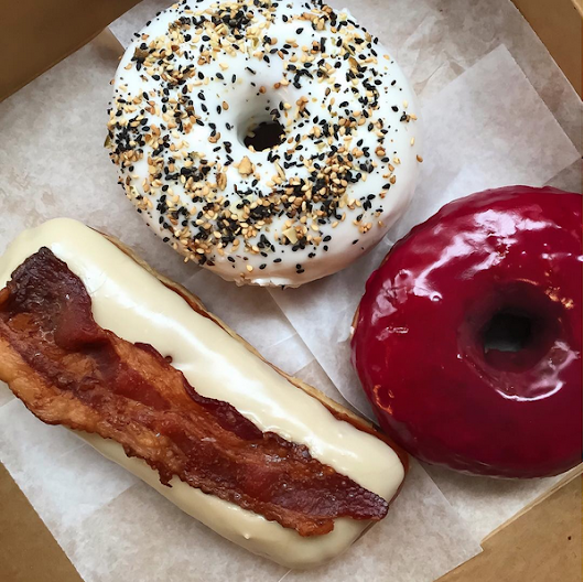 Your New Favorite Breakfast is The Everything Bagel Donut