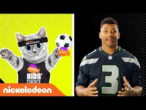 Nickalive Russell Wilson Says Touch This Blimp Kcs