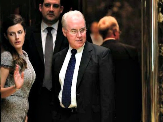 Report: Obamacare Critic Tom Price To Be Trump's Selection for Health Secretary - Breitbart