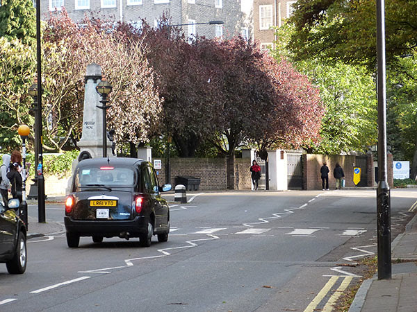 taxi à abbey road