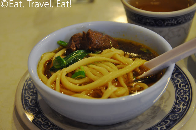 Beef Stewed Noodle Soup Hand Pull Noodle Detail