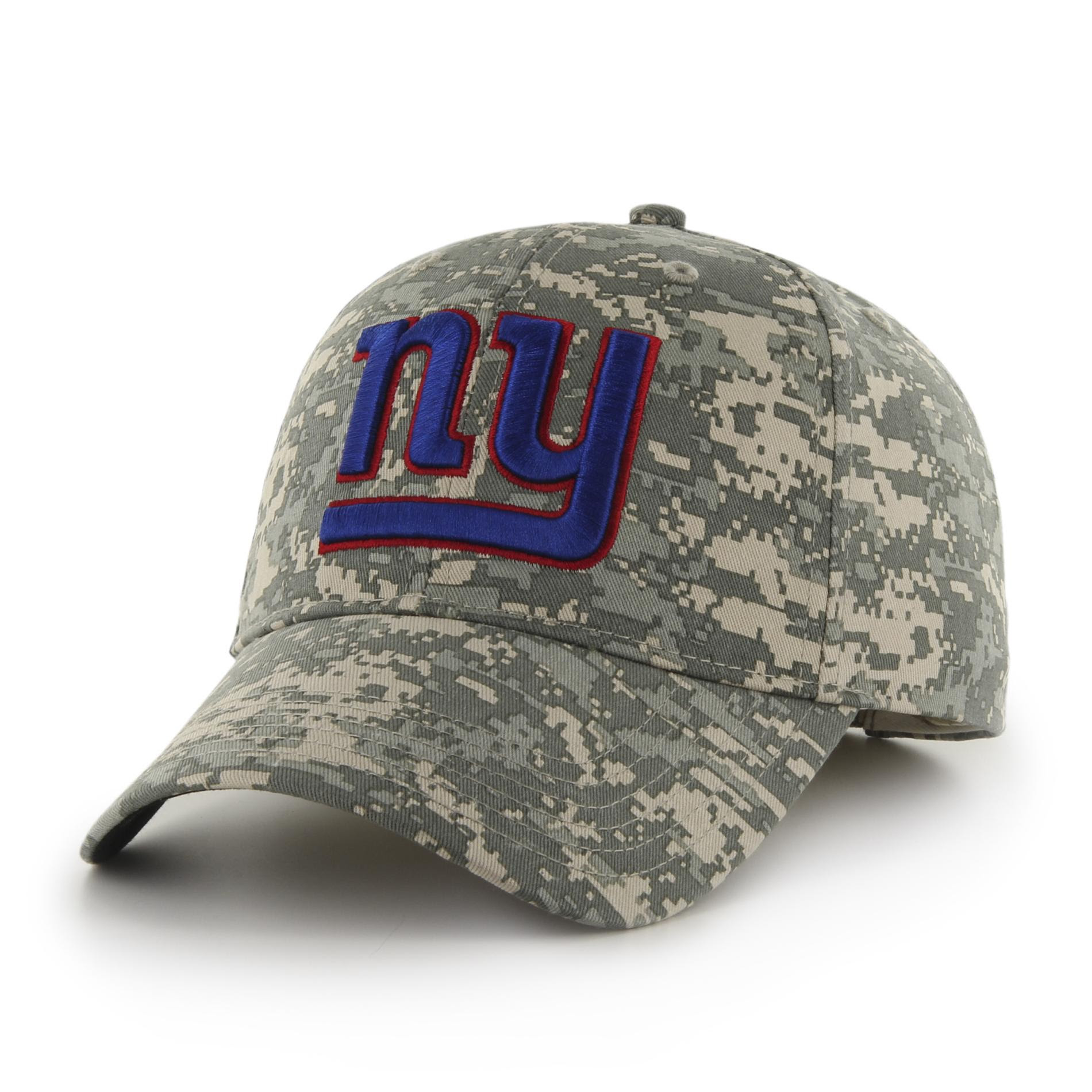 NFL Mens Camo Baseball Hat  New York Giants