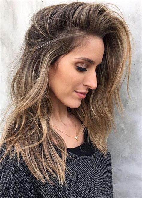 ideas  brown hair  blonde highlights  balayage