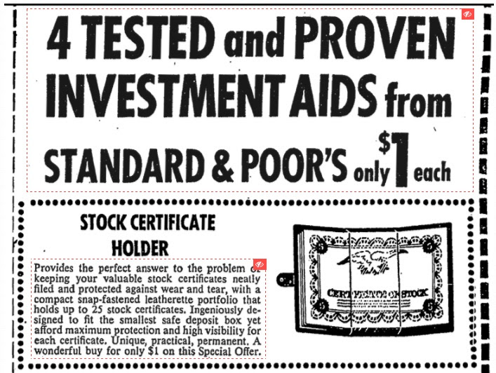 investment aids advertisement