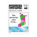 Patchwork Christmas Stocking Postage