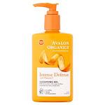 Avalon Organics Intense Defense Cleansing Gel, with Vitamin C - 8.5 fl oz