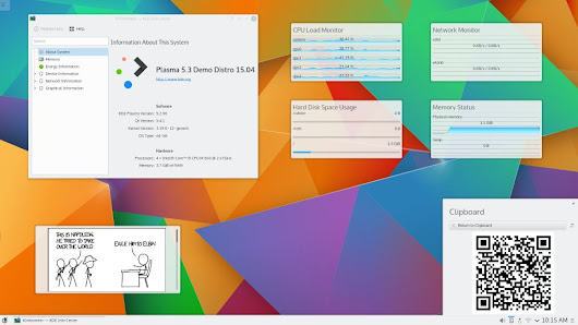 Kde Plasma 5.3 has been released - Fasterland