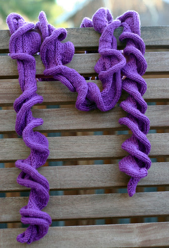 Bend and Snap scarf