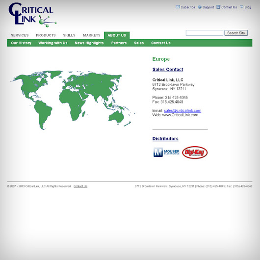 Using html5 world map for international companies websites