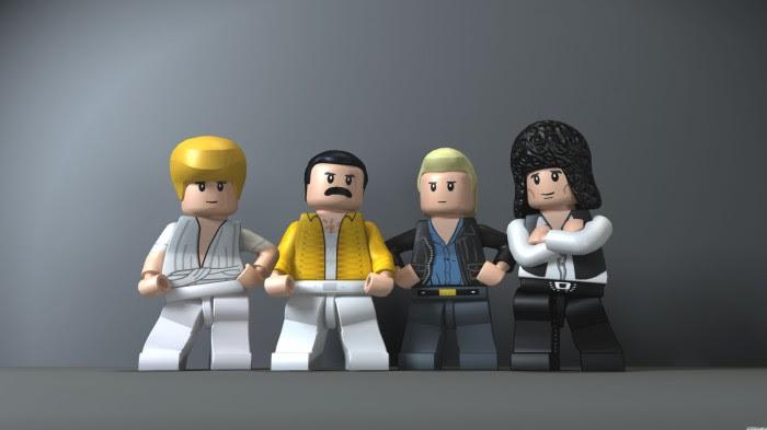 40836 queen lego 700x393 Lego Queen