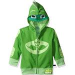 PJ Masks Toddler Boys' Gekko Costume Hoodie 2T - Green