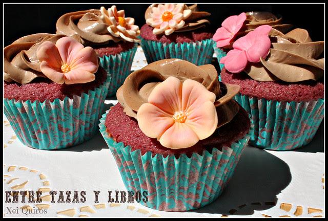 cupcakes con más flores
