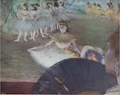 La Danseuse Au Bouquet by Degas Art Plate Suitable for Framing