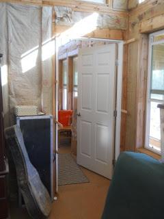 Bedroom Library Door
