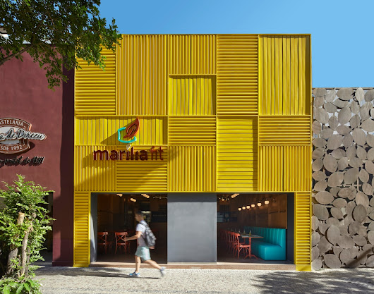 The Marília Fit Restaurant Shows That It's Hip To Be Square…