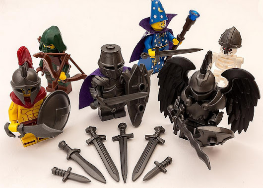 LEGO MOC OF THE WEEK - Dungeons & Dragons by Spencer Stone