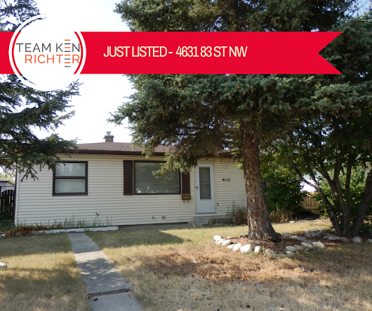 Just Listed: 4631 83 Street Northwest