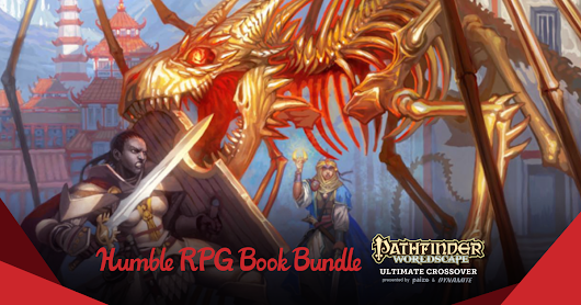 Pathfinder Worldscape Ultimate Crossover Bundle presented by Paizo & Dynamite