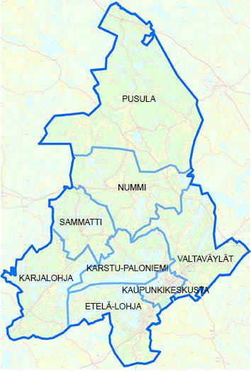 lohja kartta Kartta Sammatti | kartta
