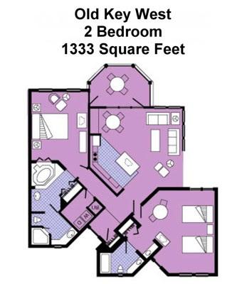Old Key West 1 Bedroom Villa Floor Plan Mangaziez