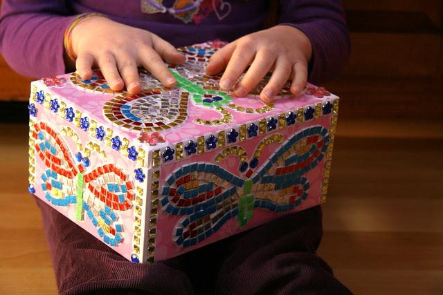 Dova's Mosaic Jewelry Box
