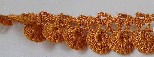 #107 lace I am making size 30 thread