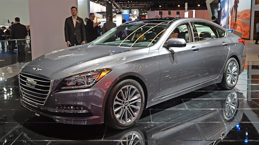 Hyundai planning pure electric Genesis model