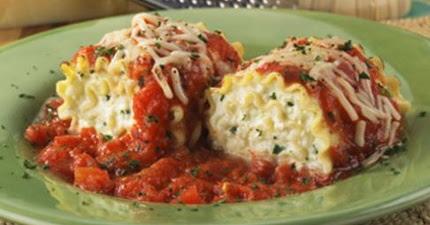 Lovebird's Lasagna Rollups
