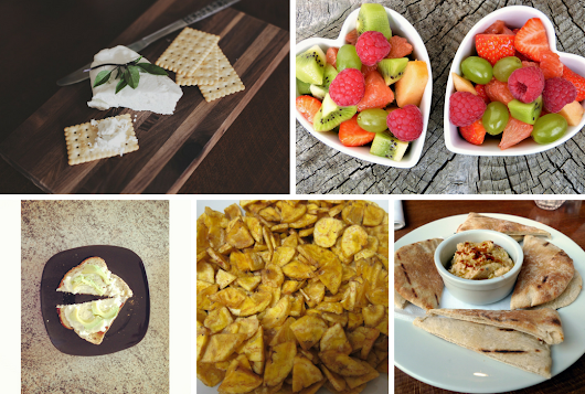 5 Suggestions For Healthy Snacks - healthy snacks for extra nutrients