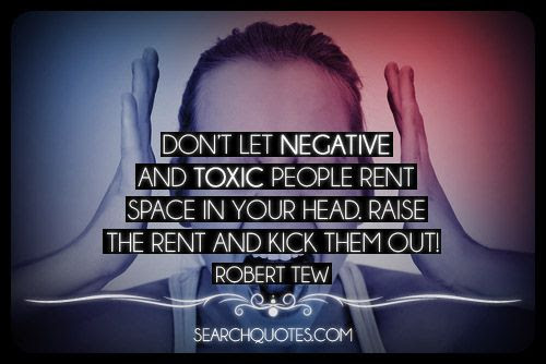 Stay Away From Negative People Picture Quotes
