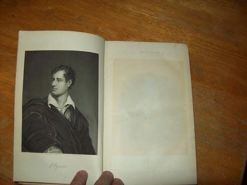 Library Book Sale 9-09: Byron portrait
