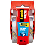 """Scotch Shipping Tape with Dispenser, Heavy Duty, 1.88"""" x 1000"""""""