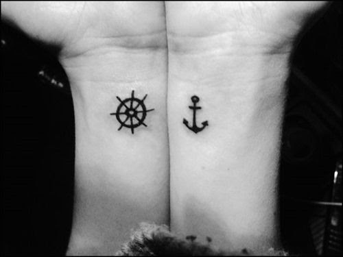 Friend Tattoos 22 Small Anchor Tattoos For Girls Tattoos For