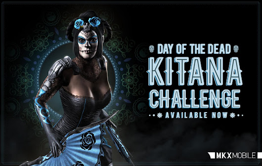"NetherRealm Studios on Twitter: ""Get Day of the Dead Kitana for your team. Scare the life out of your opponents! """
