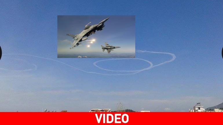 Αερομαχίες πάνω από την Καλαμάτα