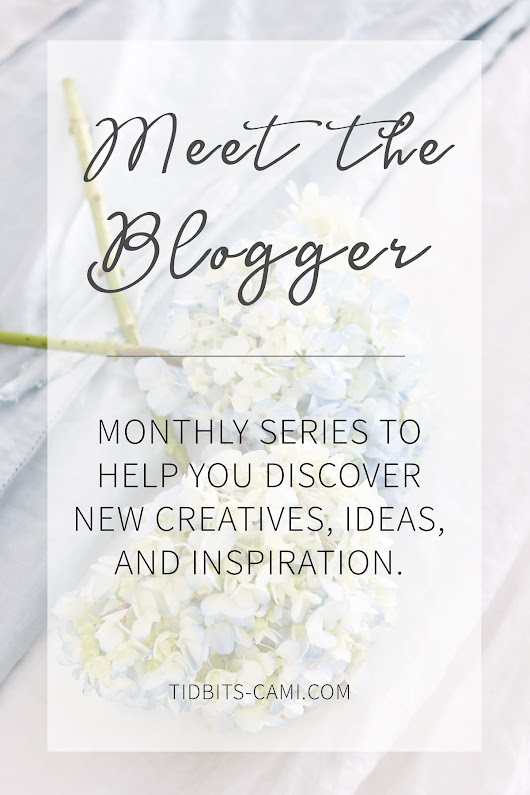 Meet the Blogger | Stacy Risenmay - Tidbits